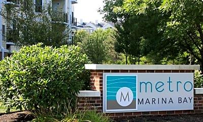 Community Signage, Metro Marina Bay, 0
