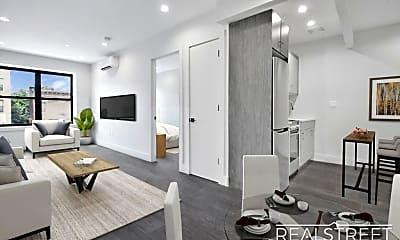 Living Room, 1166 St Johns Pl 1A, 0