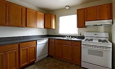 Kitchen, Uptown Apartments, 1