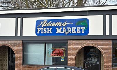 Community Signage, Adams Village, 2