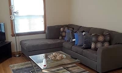Living Room, 7608 Eagle St, 1