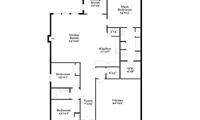 Building, 6536 Roux Dr, 1