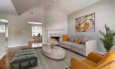 Living Room, 3927 Villager Way, 1