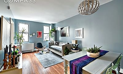 Living Room, 245 W 25th St PH-J, 0