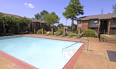 Pool, Hickory Pointe Apartments, 0