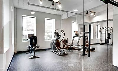 Fitness Weight Room, 3721 N Hall St S2, 2