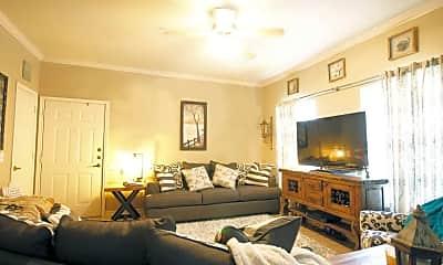 Living Room, Oakleaf Estates Apartments, 0