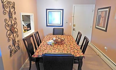 Dining Room, Fieldside Apartments, 1