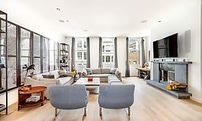Living Room, 22 Mercer St 4-B, 0