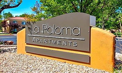 Community Signage, La Paloma, 2