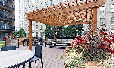 Patio / Deck, The Metro Apartments, 1
