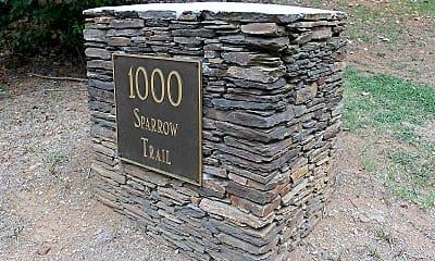 Community Signage, 1000 Sparrow Trail C, 2