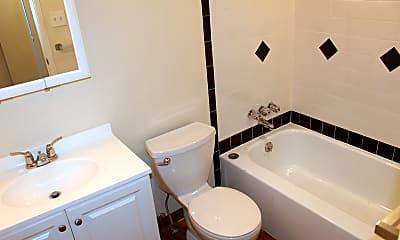 Bathroom, Piper Drive Apartments, 1