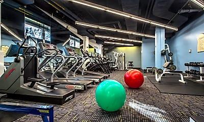 Fitness Weight Room, Dexter Park, 0