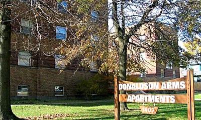 Donaldson Arms Apartments, 1