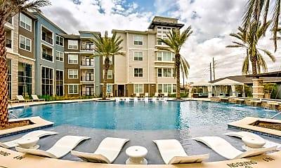 Pool, Greenhouse Apartments, 0