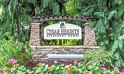 Community Signage, Cedar Heights, 0