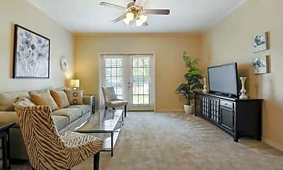Living Room, Oxford Point Apartments, 2