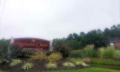 Community Signage, Autumn Chase, 0