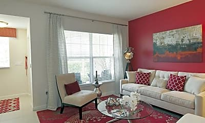 Living Room, Altis at Kendall Square, 1