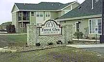 Community Signage, Forest Glen Apartments, 1