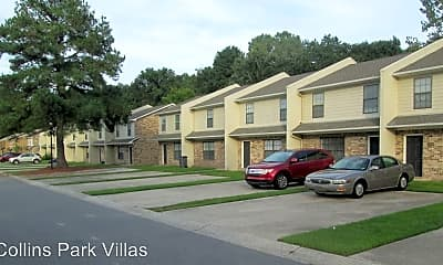 Building, Collins Park Villas, 1