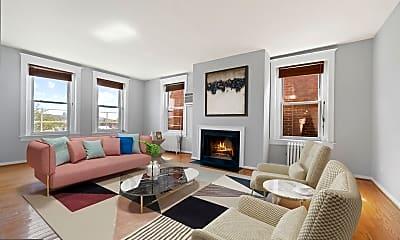Living Room, 1855 Calvert St NW 502, 1