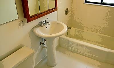 Bathroom, 507 Sherman Apartments, 2