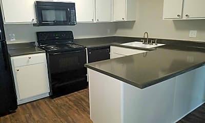 Kitchen, Woodlake Villas, 1