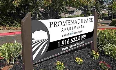 Community Signage, Promenade Park, 2