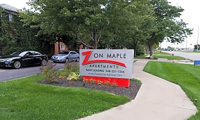 Z On Maple Apartments, 1