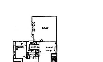 Bedroom, 5353 S Jones Blvd, 2