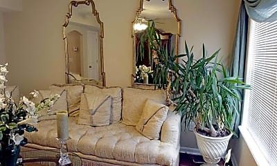 Living Room, St. James Crossings Townhomes, 1