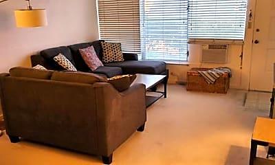 Living Room, 4952 Kilauea Ave 2, 1