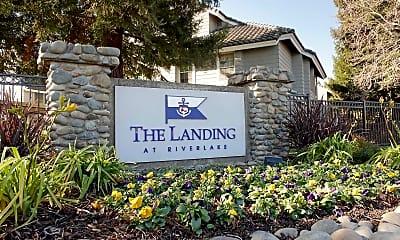 Community Signage, The Landing At Riverlake, 2