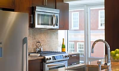 Kitchen, One Back Bay Apartments, 0