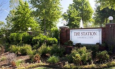 Community Signage, The Station, 2