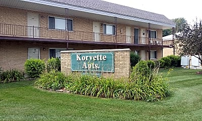 Korvette Apartments, 1