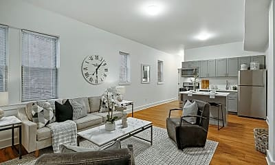 Living Room, 4317 Spruce St, 0