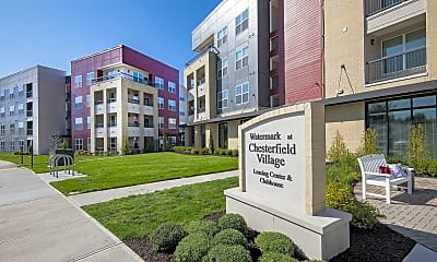 Community Signage, Watermark at Chesterfield Village Apartments, 0