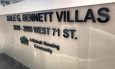 Dale G. Bennett Villas, 1