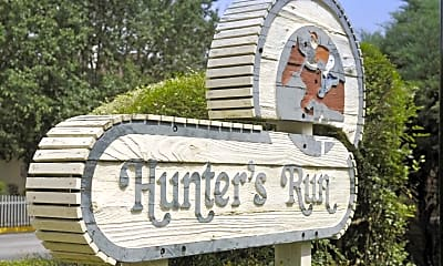 Community Signage, Hunters Run, 2