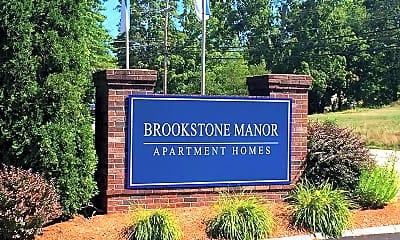 Community Signage, Brookstone Manor, 2
