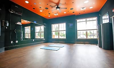 Fitness Weight Room, Nantucket Cove, 1