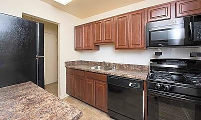 Kitchen, Montgomery White Oak, 1