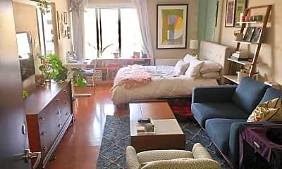 Living Room, 1440 N St NW 910, 1