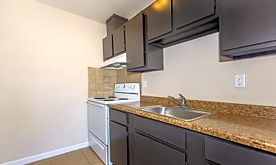 Kitchen, Meadowlark Apartments, 1