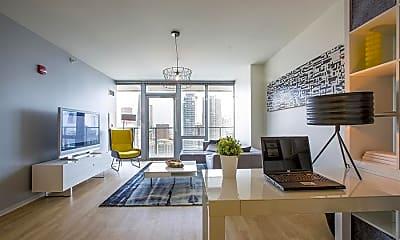 Living Room, 130 E Randolph St, 0