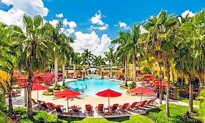 Pool, 626 6th Terrace, 1
