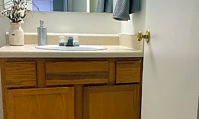 Bathroom, The Trails Apartments, 1